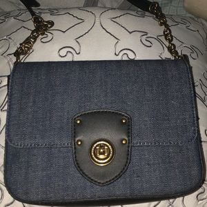 Selling this lovely navy blue Ralph Lauren purse